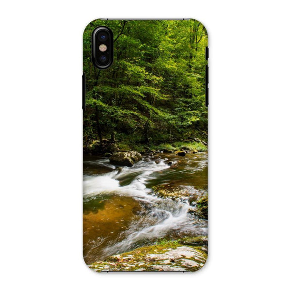 River Surrounded By Trees Phone Case Iphone X / Snap Gloss & Tablet Cases