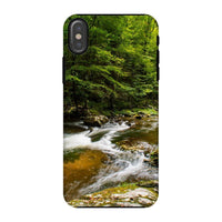 River Surrounded By Trees Phone Case Iphone X / Tough Gloss & Tablet Cases