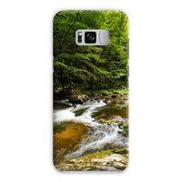 River Surrounded By Trees Phone Case Samsung S8 Plus / Snap Gloss & Tablet Cases