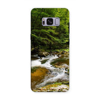 River Surrounded By Trees Phone Case Samsung S8 Plus / Tough Gloss & Tablet Cases
