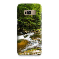 River Surrounded By Trees Phone Case Samsung S8 / Snap Gloss & Tablet Cases