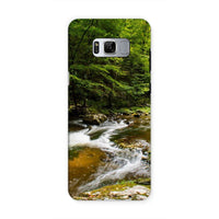 River Surrounded By Trees Phone Case Samsung S8 / Tough Gloss & Tablet Cases