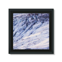 Rocky Mountain Slop Framed Eco-Canvas 10X10 Wall Decor