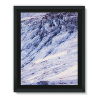 Rocky Mountain Slop Framed Eco-Canvas 11X14 Wall Decor