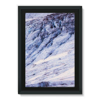 Rocky Mountain Slop Framed Eco-Canvas 20X30 Wall Decor