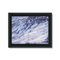 Rocky Mountain Slop Framed Eco-Canvas 24X18 Wall Decor