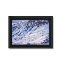 Rocky Mountain Slop Framed Eco-Canvas 36X24 Wall Decor
