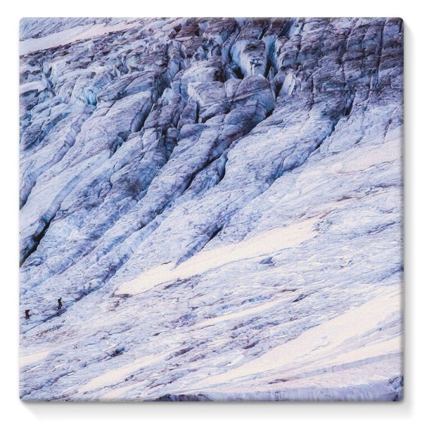 Rocky Mountain Slop Stretched Canvas 10X10 Wall Decor