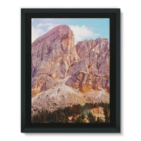 Rocky Mountain Surrounded Framed Canvas 12X16 Wall Decor