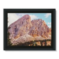Rocky Mountain Surrounded Framed Canvas 16X12 Wall Decor