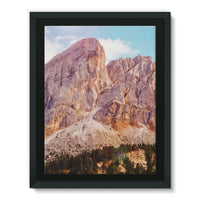 Rocky Mountain Surrounded Framed Canvas 18X24 Wall Decor