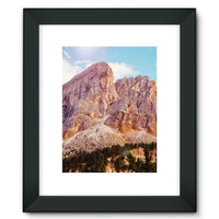 Rocky Mountain Surrounded Framed Fine Art Print 12X16 / Black Wall Decor