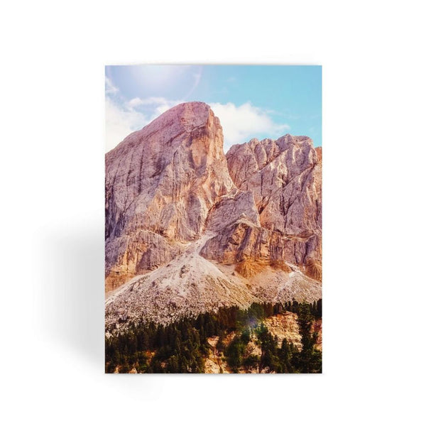 Rocky Mountain Surrounded Greeting Card 1 Prints