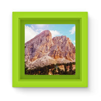 Rocky Mountain Surrounded Magnet Frame Green Homeware