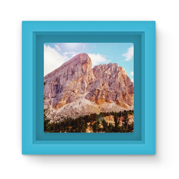 Rocky Mountain Surrounded Magnet Frame Light Blue Homeware