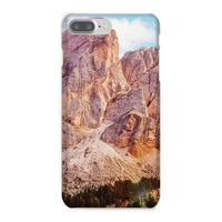 Rocky Mountain Surrounded Phone Case Iphone 8 Plus / Snap Gloss & Tablet Cases