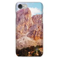 Rocky Mountain Surrounded Phone Case Iphone 8 / Snap Gloss & Tablet Cases