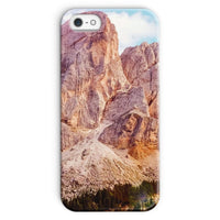 Rocky Mountain Surrounded Phone Case Iphone Se / Snap Gloss & Tablet Cases