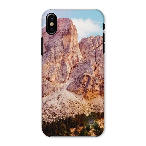 Rocky Mountain Surrounded Phone Case Iphone X / Snap Gloss & Tablet Cases