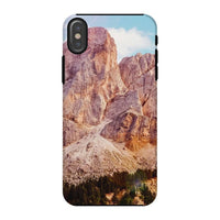 Rocky Mountain Surrounded Phone Case Iphone X / Tough Gloss & Tablet Cases