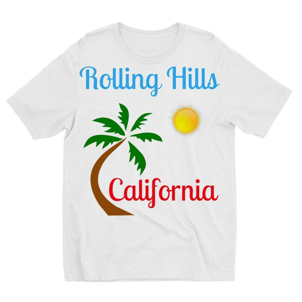 Rolling Hills California Kids Sublimation T-Shirt 3-4 Years Apparel