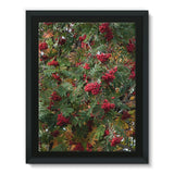 Rowan Berries Framed Eco-Canvas 18X24 Wall Decor