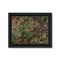 Rowan Berries Framed Eco-Canvas 24X18 Wall Decor