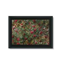 Rowan Berries Framed Eco-Canvas 36X24 Wall Decor