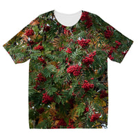 Rowan Berries Kids Sublimation T-Shirt 3-4 Years Apparel