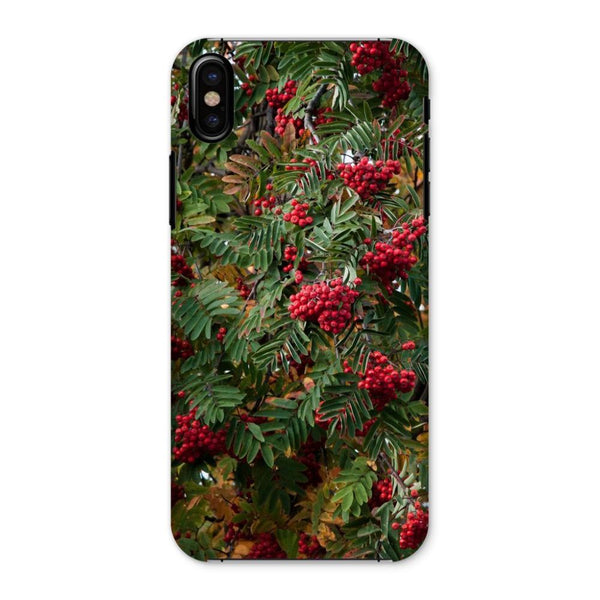 Rowan Berries Phone Case Iphone X / Snap Gloss & Tablet Cases