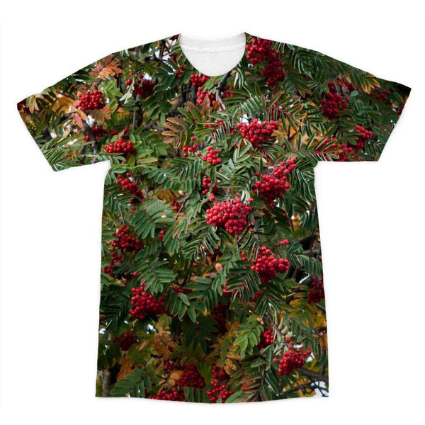 Rowan Berries Sublimation T-Shirt Xs Apparel