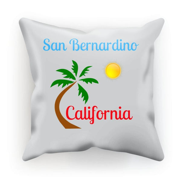 San Bernardino California Cushion Linen / 12X12 Homeware