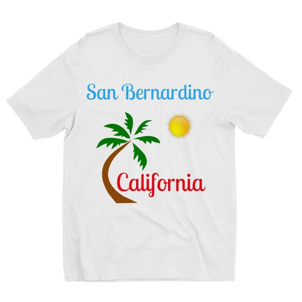 San Bernardino California Kids Sublimation T-Shirt 3-4 Years Apparel