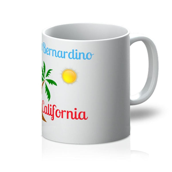 San Bernardino California Mug 11Oz Homeware