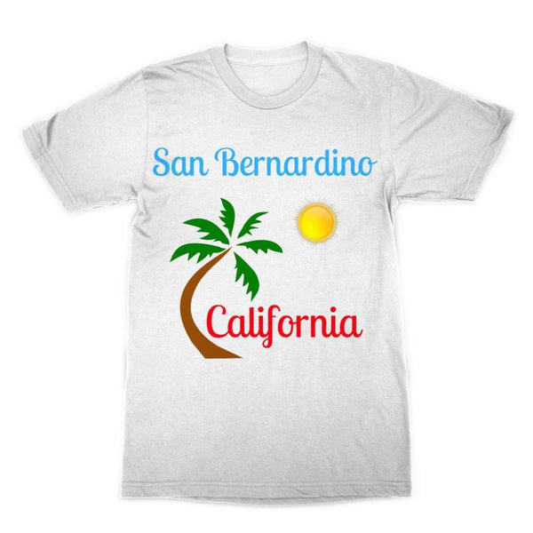 San Bernardino California Sublimation T-Shirt Xs Apparel