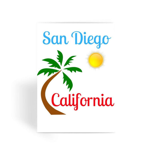 San Diego California Greeting Card 1 Prints