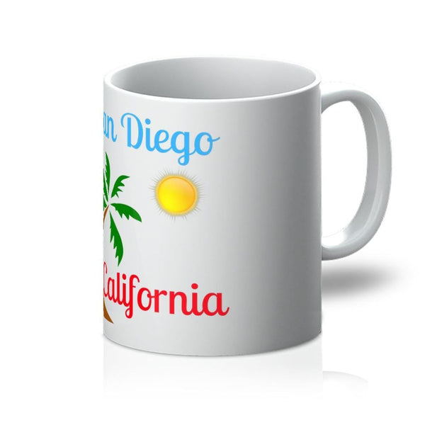 San Diego California Mug 11Oz Homeware