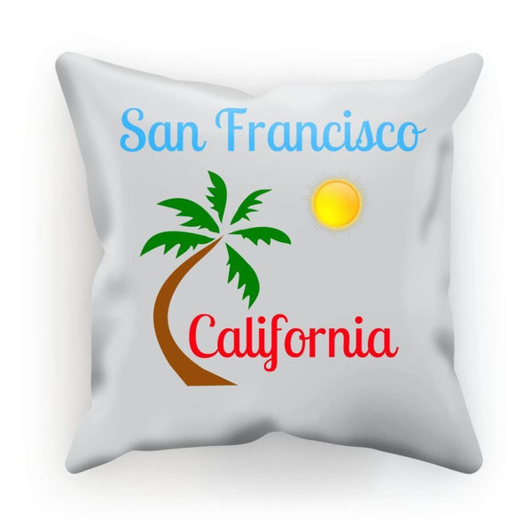 San Francisco California Cushion Linen / 12X12 Homeware