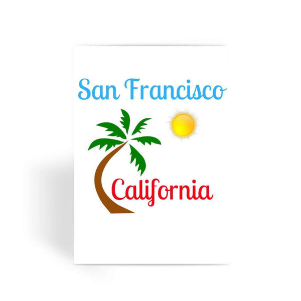 San Francisco California Greeting Card 1 Prints