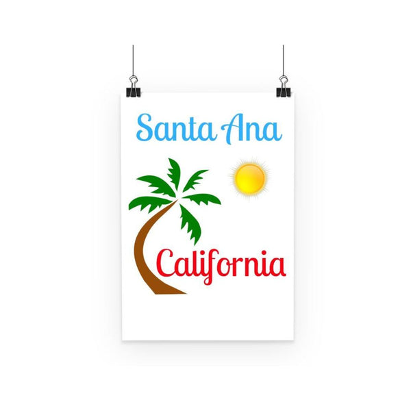 Santa Ana California Poster A3 Wall Decor