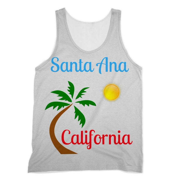 Santa Ana California Sublimation Vest Xs Apparel