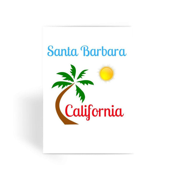 Santa Barbara California Greeting Card 1 Prints