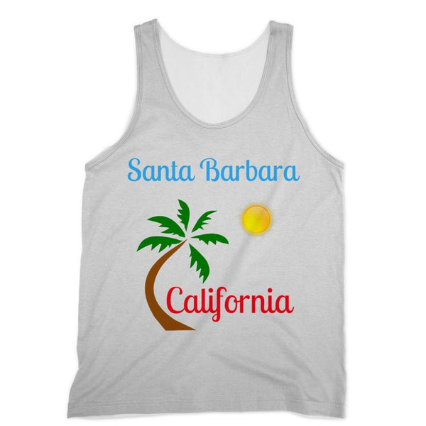 Santa Barbara California Sublimation Vest Xs Apparel