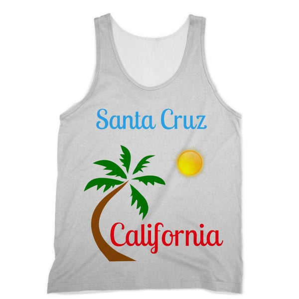 Santa Cruz California Sublimation Vest Xs Apparel