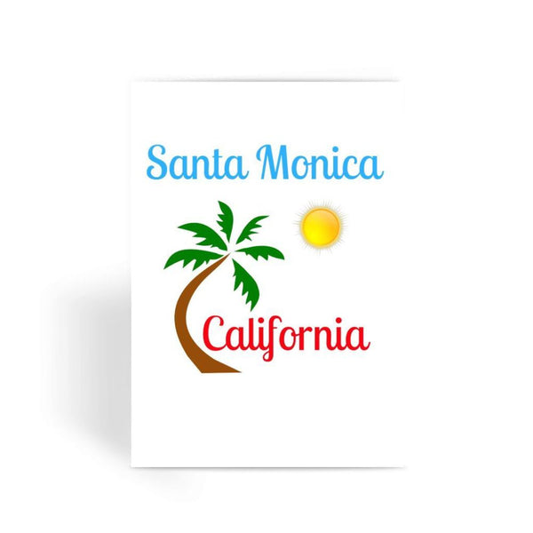 Santa Monica California Greeting Card 1 Prints