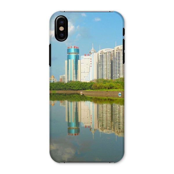 Shadows Of Buildings Phone Case Iphone X / Snap Gloss & Tablet Cases