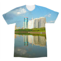 Shadows Of Buildings Sublimation T-Shirt Xs Apparel