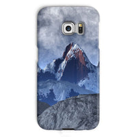 Sharped Edged Mountains Phone Case Galaxy S6 Edge / Snap Gloss & Tablet Cases
