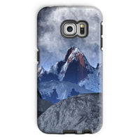 Sharped Edged Mountains Phone Case Galaxy S6 Edge / Tough Gloss & Tablet Cases