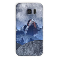 Sharped Edged Mountains Phone Case Galaxy S6 / Snap Gloss & Tablet Cases